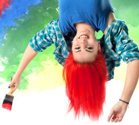 """Ressamların Dünyanın En """"Renkli"""" İnsanları Olduğunun Kanıtı"""