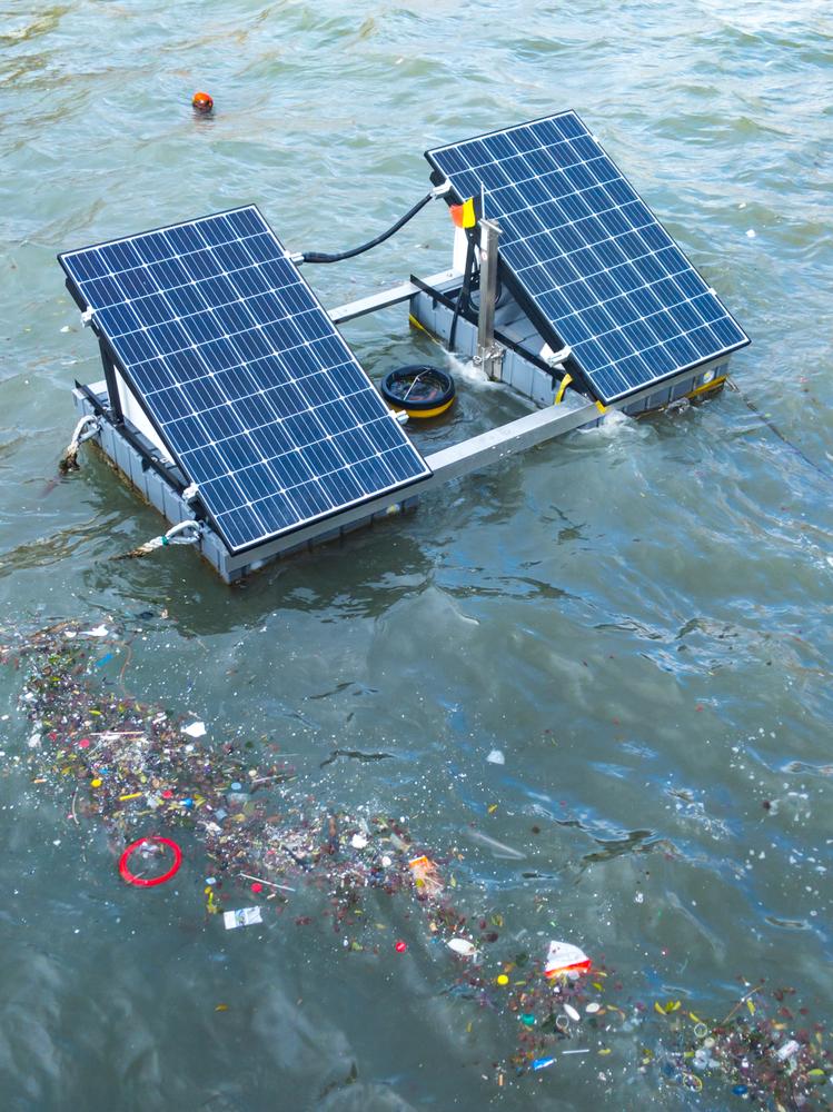 çevre, koruma, teknoloji, deniz, çöp, toplama