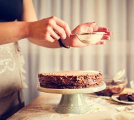 sevgililer günü için pasta