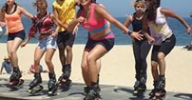 Zıplayan Ayakkabıyla Spor: Funny Jumps