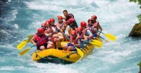 Türkiye'nin En İyi Rafting Bölgeleri
