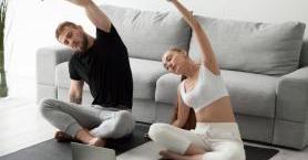 Evde Yapılacak Kolay Fitness Hareketleri
